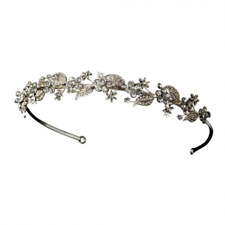 Wholesale Swarovski Floral Crystal Headband