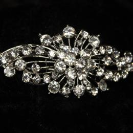 Vintage Inspired Diamante Headband
