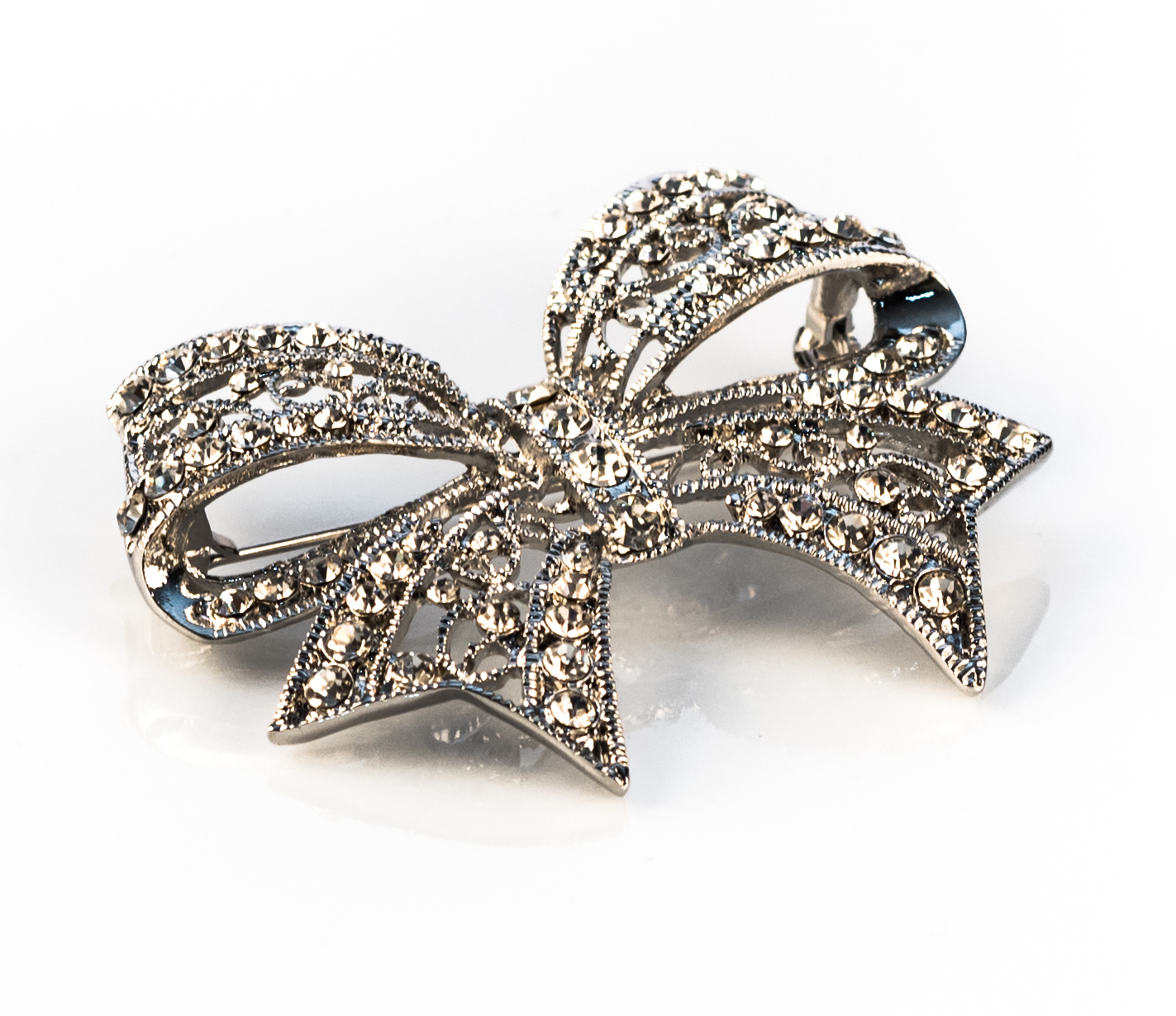Vintage Bow Brooch Hair Comb