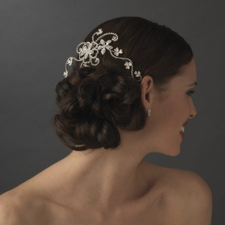 Swarovski Crystal Hair Vine Comb