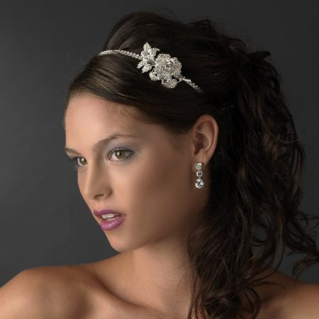 Vintage Rose Side Accent Headband