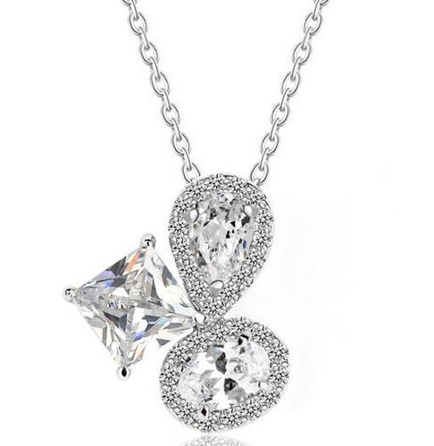 True Elegance Cubic Zirconia Necklace