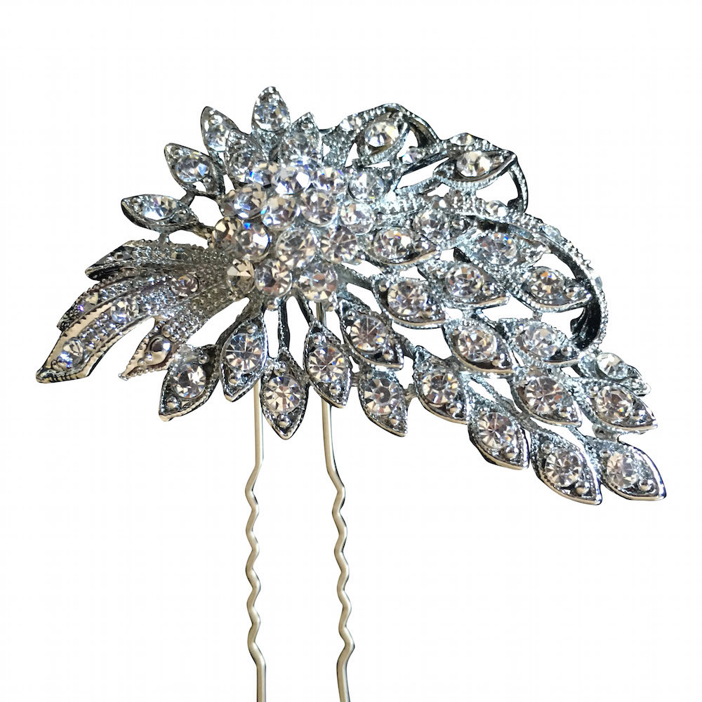 Vintage Rhinestone Hairpin | A Touch Of Elegance