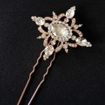 Rose Gold Vintage Elegance Hair Pin
