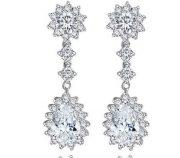 Royal Elegance Cubic Zirconia Earrings