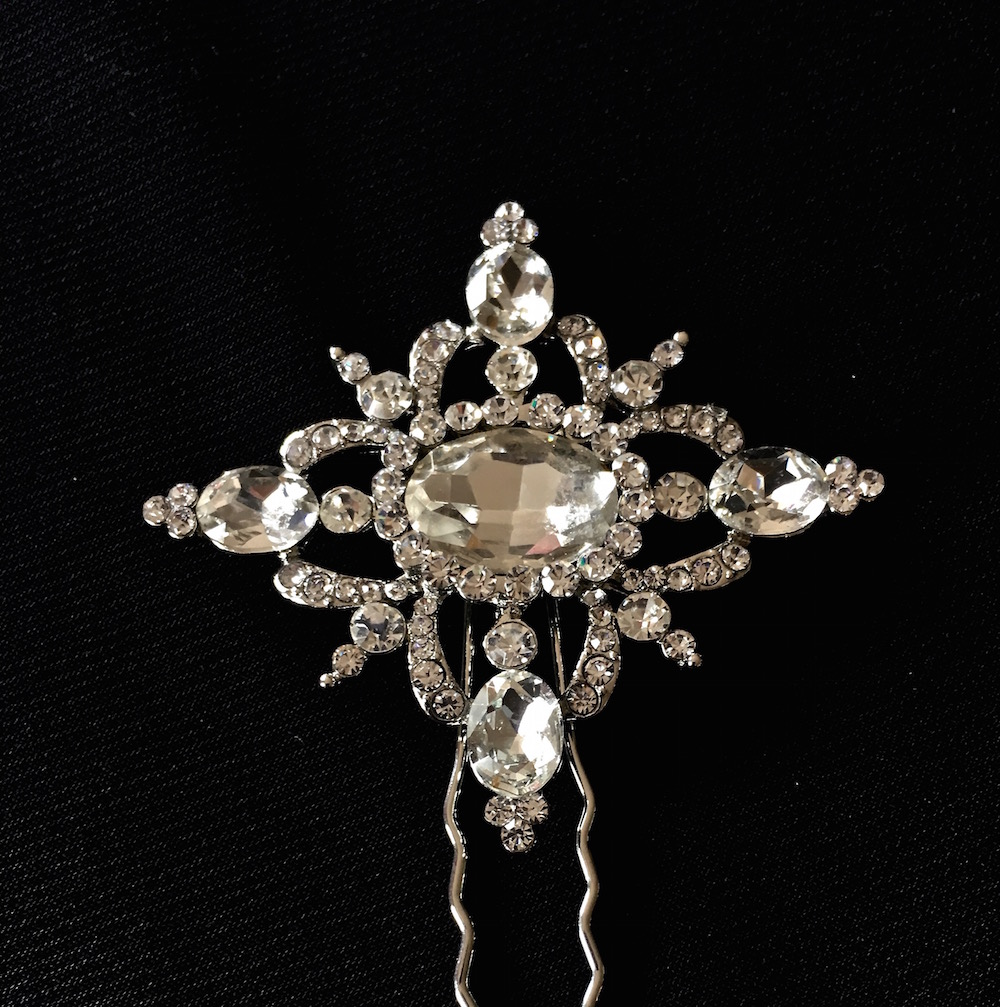 Silver Vintage Elegance Hair Pin